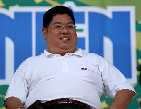 Ông Trần Song Hải, Phó chủ tịch Hội cổ động viên Việt Nam. Ảnh: An Nhơn.