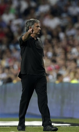 HLV Mourinho của Real.