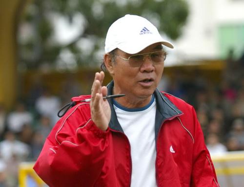 Cựu HLV Trần Văn Phúc.