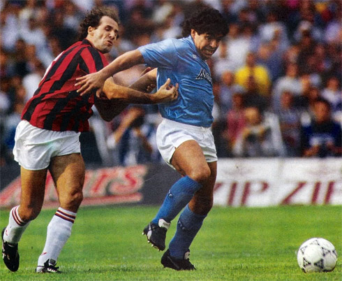 Napoli thời còn Maradona là quyền lực số một của Serie A.