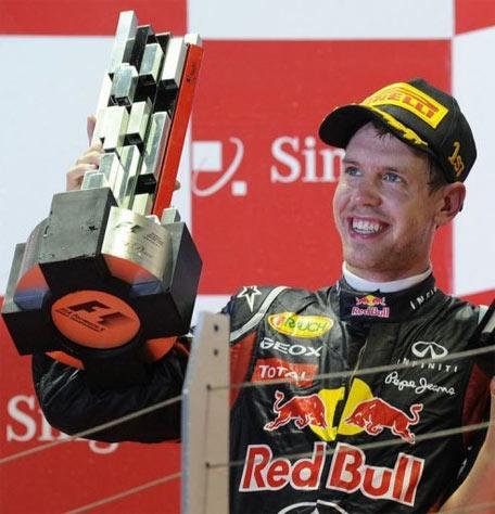 Chức vô địch đang ở rất gần Vettel.