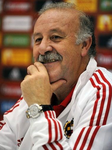 Đương kim HLV đội tuyển Tây Ban Nha, Del Bosque.