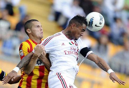 Boateng là hạt nhân, nguồn cảm hứng giúp Milan làm nên màn ngược dòng ngoạn mục trên sân Lecce.
