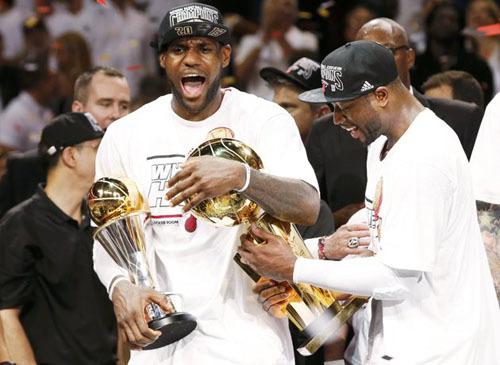LeBron James đưa Miami Heat vô địch NBA lần thứ hai liên tiếp