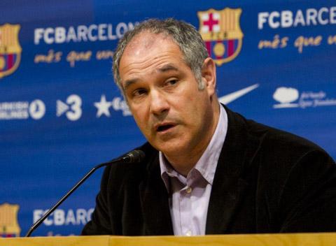 Zubizarreta đóng vai trò lớn trong vấn đề chuyên môn và mua sắm tại Barca.