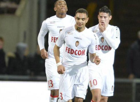 Monaco thắng trận thứ 5 liên tiếp tại Ligue I.