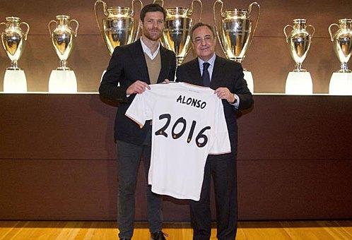 Bernabeu vẫn là nhà của Xabi Alonso đến năm 2016