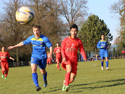 Video: U19 Việt Nam vs U19 AFC Wimbledon