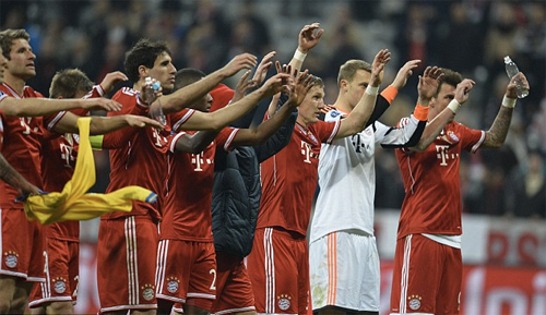 Bayern Munich tiễn Arsenal khỏi Champions League