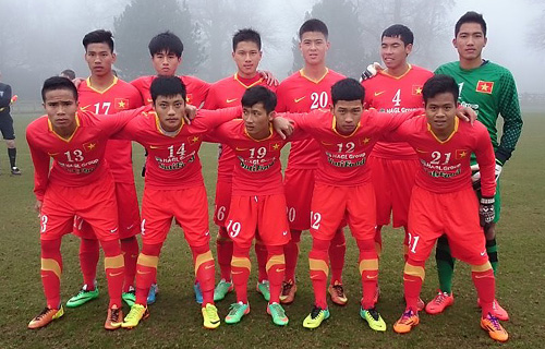 Video: U19 Việt Nam vs U19 Coventry City