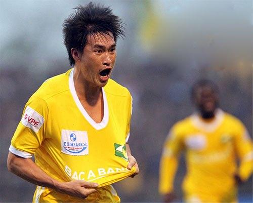 Vòng 9 V-League: Công Vinh giúp SLNA thắng tưng bừng