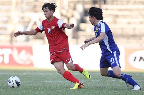 U19 Việt Nam thua trên đất Pháp