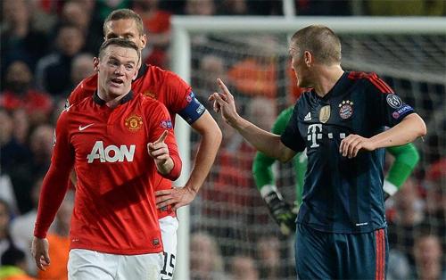 Man Utd tái mặt trước trận gặp Bayern