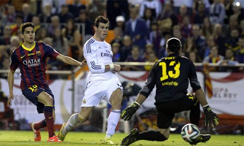 Bale ghi tuyệt phẩm, Real hạ Barca
