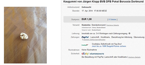 CĐV Dortmund tranh mua bã kẹo cao su của HLV