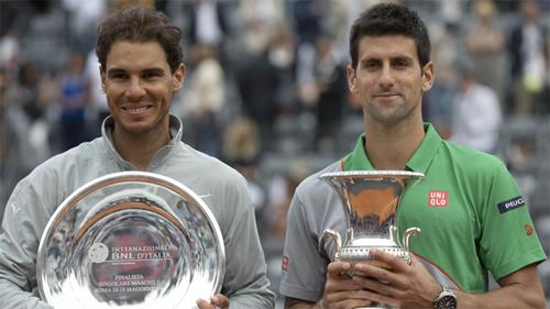 Djokovic ngược dòng hạ Nadal ở chung kết Rome Masters