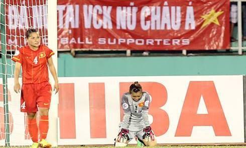 Video: Nữ Việt Nam vs Nữ Thái Lan