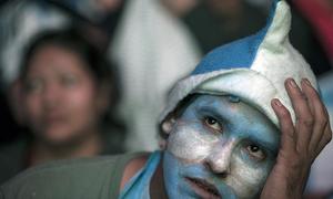 Nỗi buồn mênh mang của CĐV Argentina