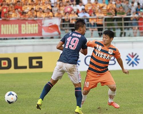 Văn Quyến tịt ngòi, Ninh Bình rơi vào cửa tử ở AFC Cup