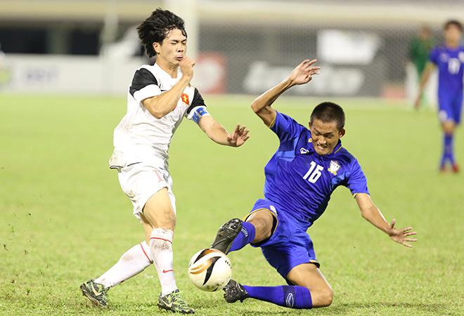 U19 Việt Nam bầm dập vì lối chơi thô bạo của U19 Thái Lan