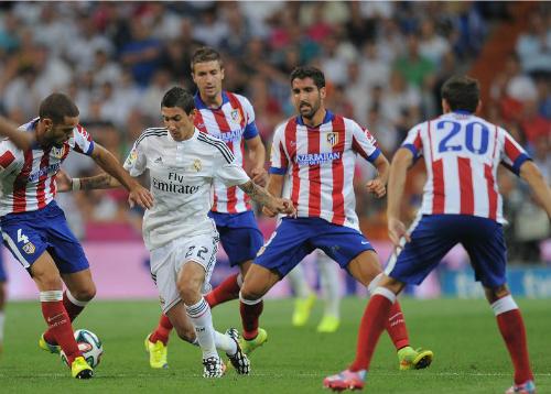 Atletico - Real Madrid: Công thành chiến