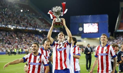Quật ngã Real, Atletico giành Siêu Cup Tây Ban Nha