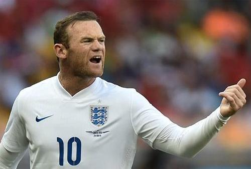Rooney trở thành tân đội trưởng tuyển Anh
