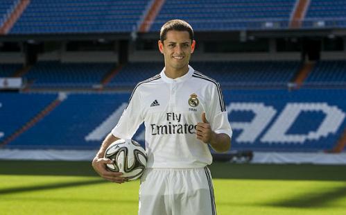 Chicharito đến Real Madrid theo dạng cho mượn