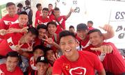 Đội Olympic Việt Nam gia nhập làng ASIAD 17