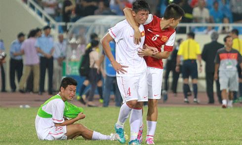 U19 Việt Nam khóc như mưa sau trận thua Nhật Bản