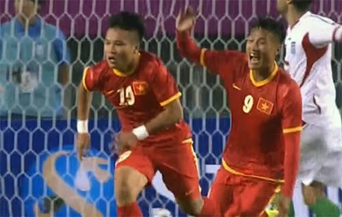 Việt Nam đè bẹp ứng viên vô địch Iran ở ASIAD 17