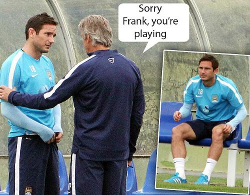 Lampard chuẩn bị đối đầu Chelsea