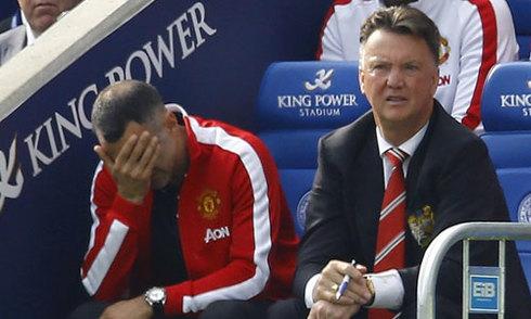 Van Gaal trút cơn thịnh nộ lên các cầu thủ Man Utd