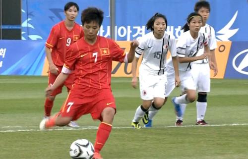 Video: Nữ Việt Nam vs Nữ Hong Kong