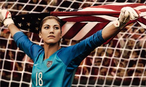 Nữ thủ môn tuyển Mỹ cũng dính nghi án lộ ảnh khỏa thân