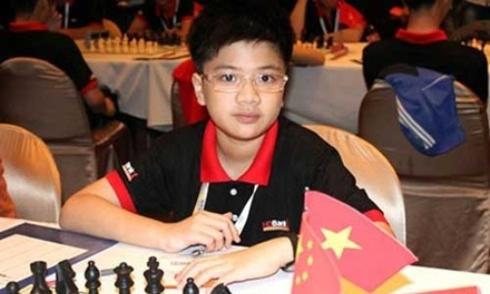 Anh Khôi vô địch cờ vua U12 nam thế giới