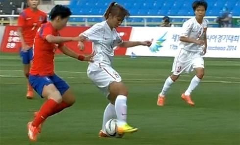 Video: Nữ Hàn Quốc vs Nữ Việt Nam