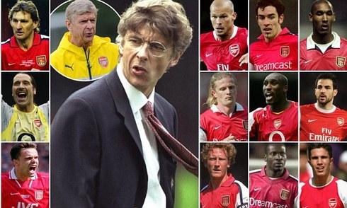 Wenger và 18 năm dũa ngọc thô ở Arsenal
