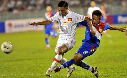 Lào trở thành đối thủ của Việt Nam tại AFF Cup 2014
