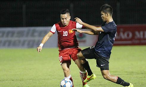 U21 Việt Nam đại thắng U21 Singapore