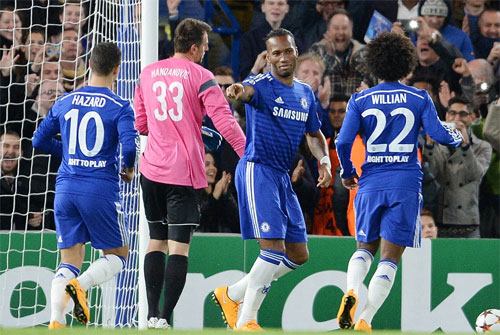 Drogba khai hỏa, Chelsea đại thắng 6-0