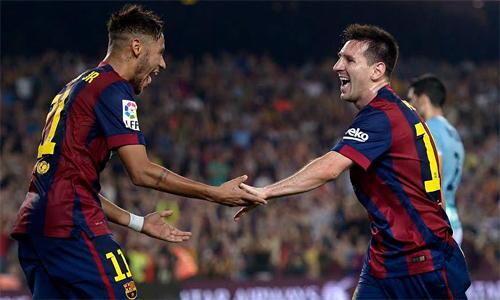 Messi - Chân chuyền siêu hạng ở các trận Kinh điển