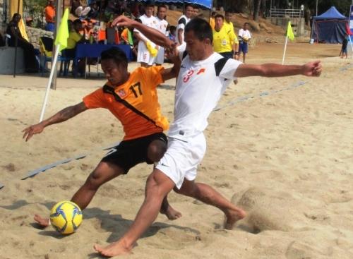 Việt nam vào chung kết bóng đá bãi biển đông nam á 2014