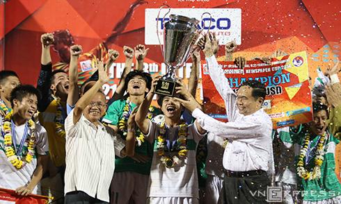 U19 HAGL đại thắng U21 Thái Lan, vô địch giải U21 Quốc tế 2014