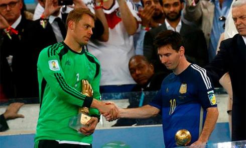 Chủ tịch FIFA vẫn bức xúc vì Messi được bầu là Cầu thủ hay nhất World Cup 2014