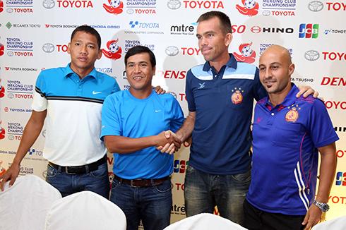 Toyota Mekong Club: Bốn đội bóng, một tham vọng