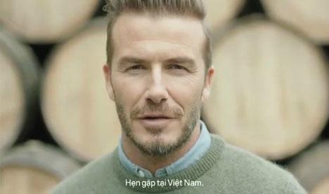 David Beckham trở lại Việt Nam