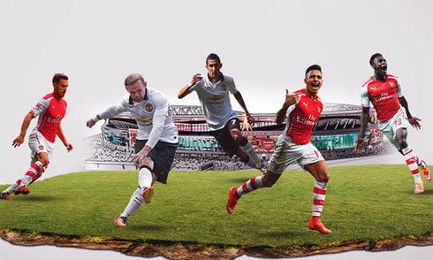 Năm điều thú vị trước đại chiến Arsenal - Man Utd