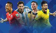 Brazil đụng Colombia, Argentina chiến đương kim vô địch Copa America