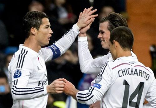 Real 4-0 Ludogorets: Ronaldo vượt qua huyền thoại Raul